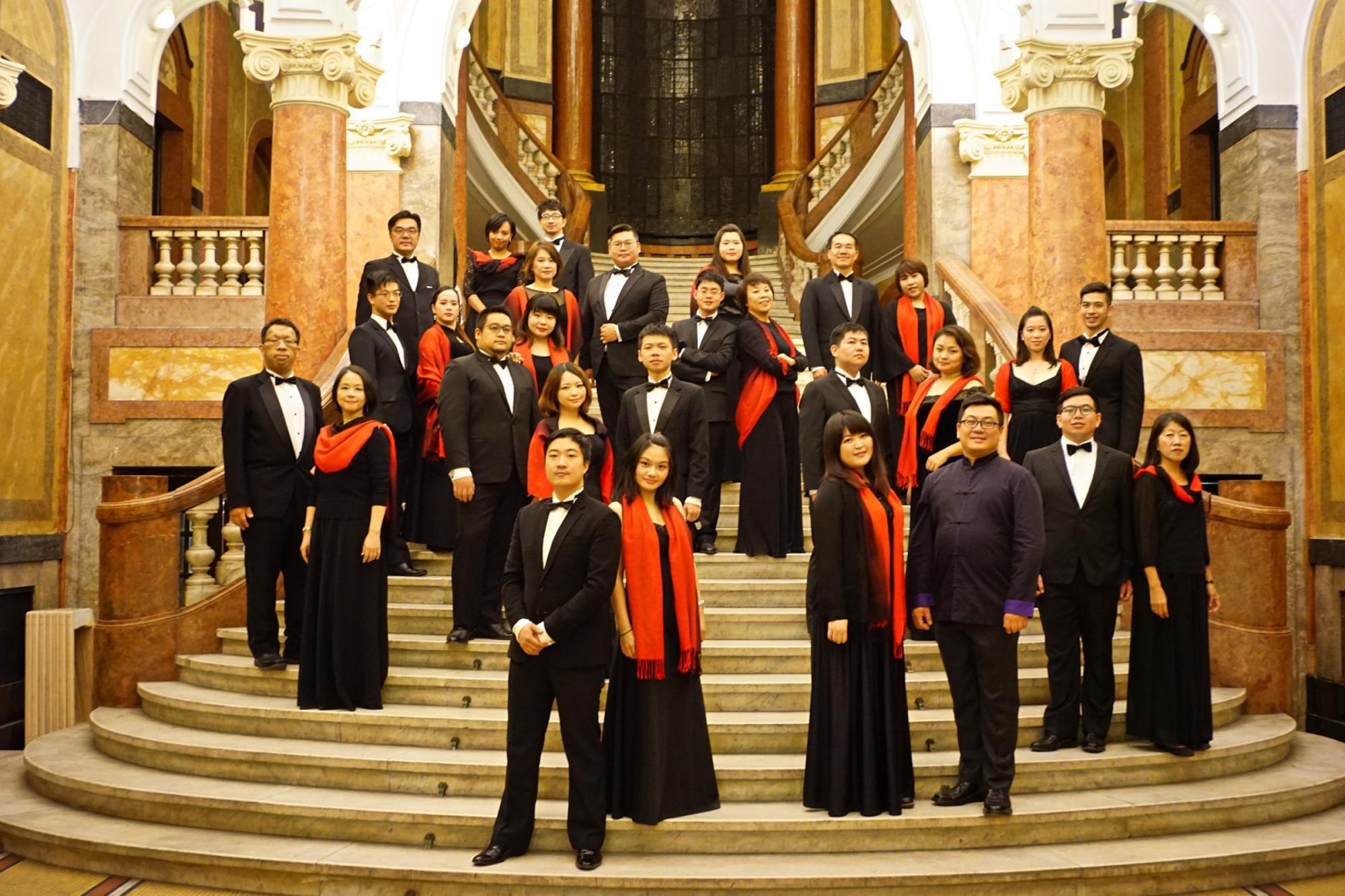 用歌聲描繪台灣之美 台北愛樂室內合唱團唱出台灣印象