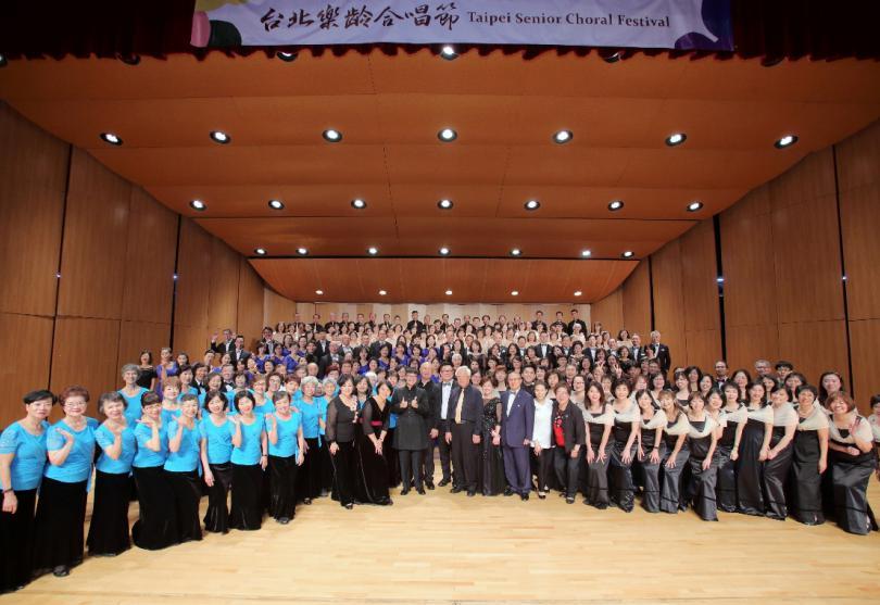 第二屆台北樂齡合唱節揭幕 500位歌者釋放音樂正能量