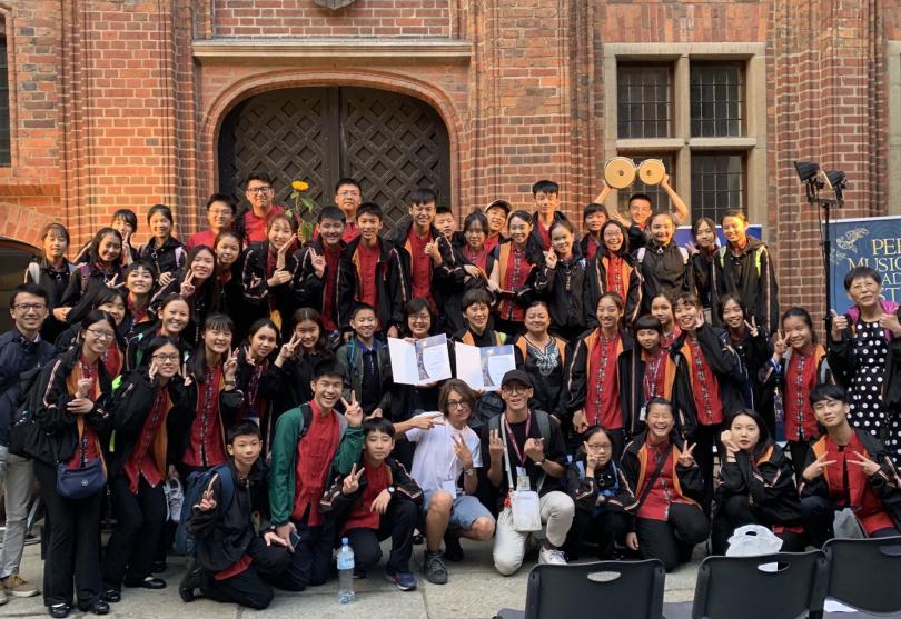 台北愛樂少年及兒童合唱團 哥白尼合唱節奪雙金