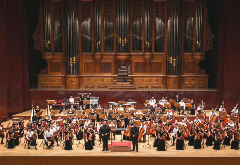 向防疫人員致敬 台北愛樂少年樂團舉行「希望」音樂會