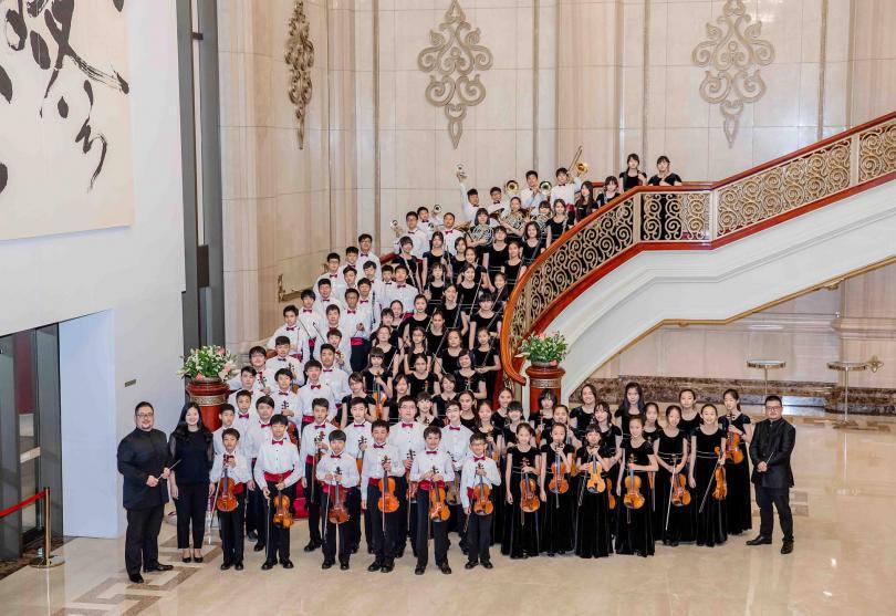 台北愛樂少年樂團乘著音樂環遊世界!