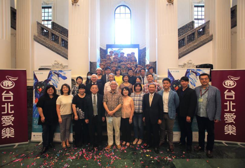 台北國際合唱音樂節開幕 全球疫情下展現聲命力