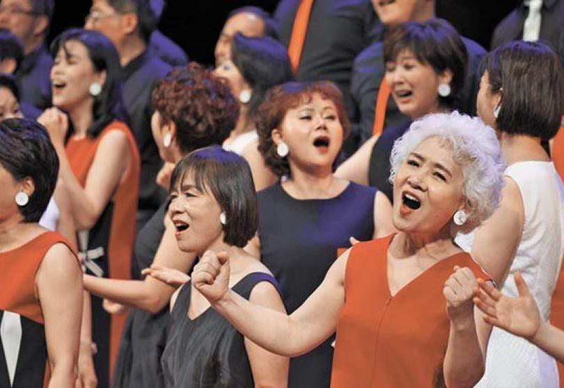 台灣首屆樂齡合唱節登場 500位銀髮族唱出第二人生